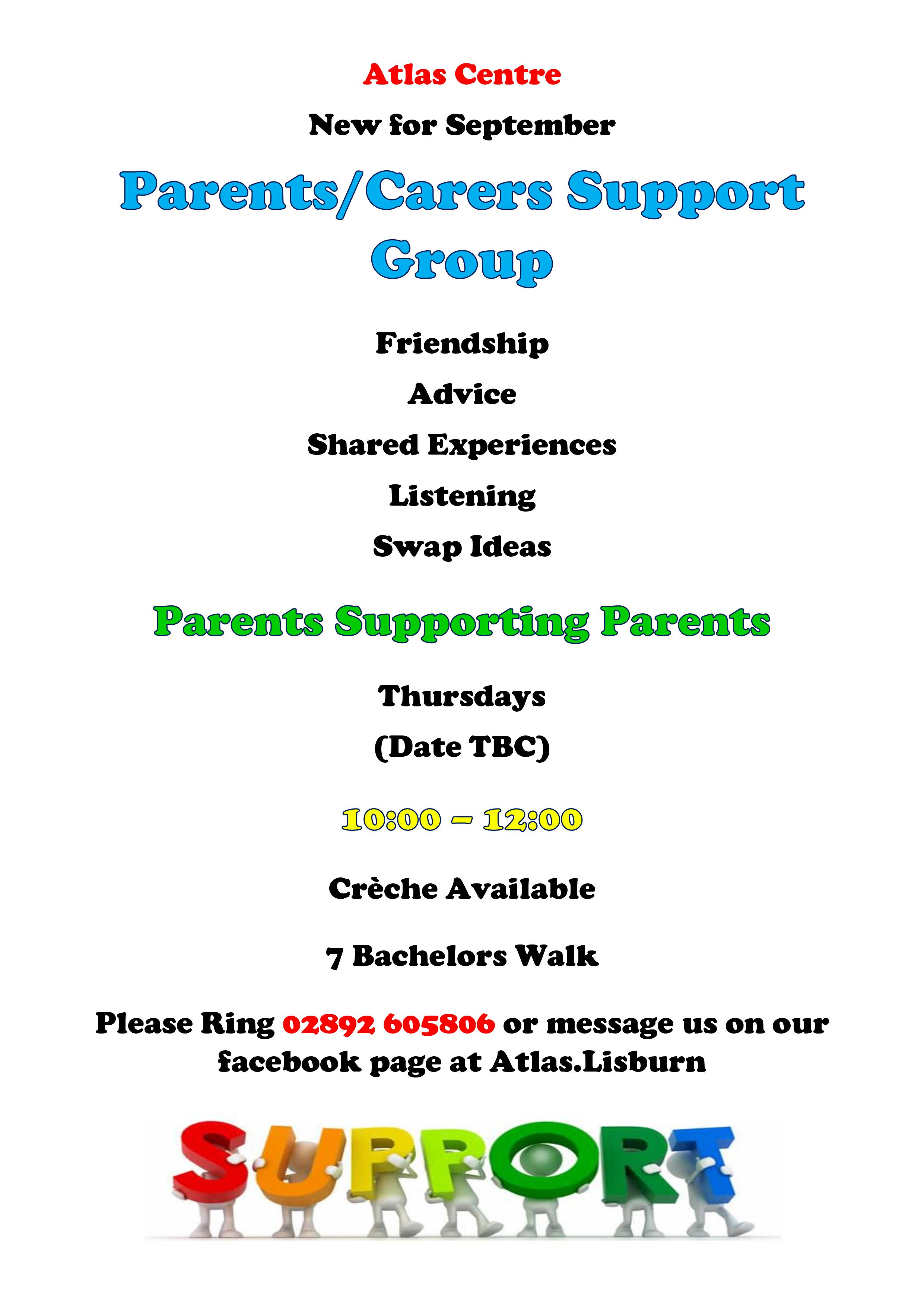 Creche Support Group Poster