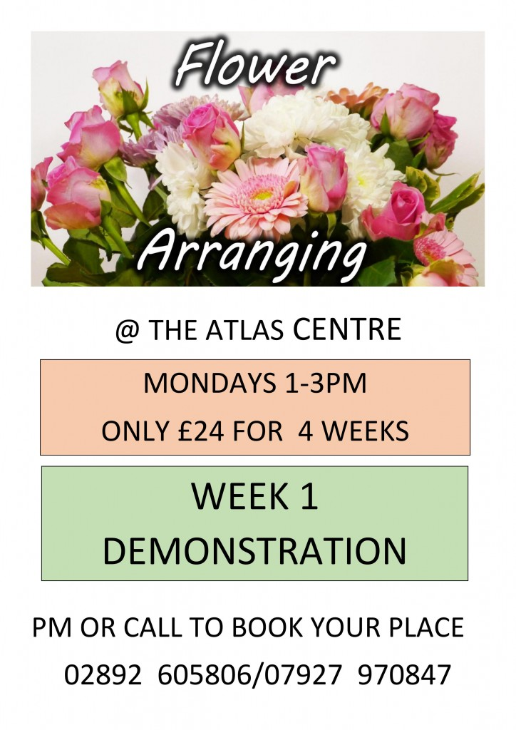 Flower Arranging Poster