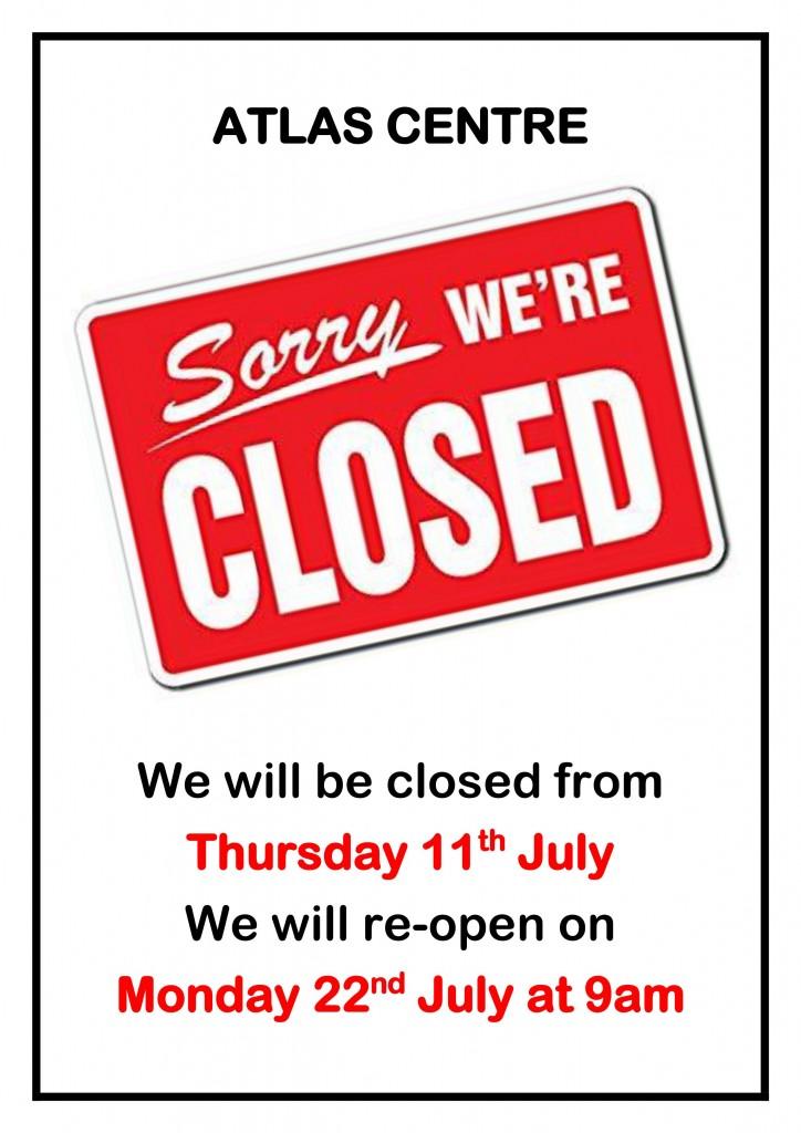 July Closure