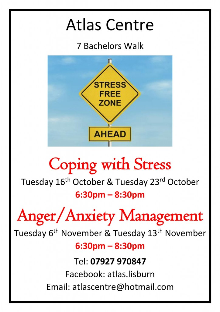 Stress Anger and Anxiety Poster