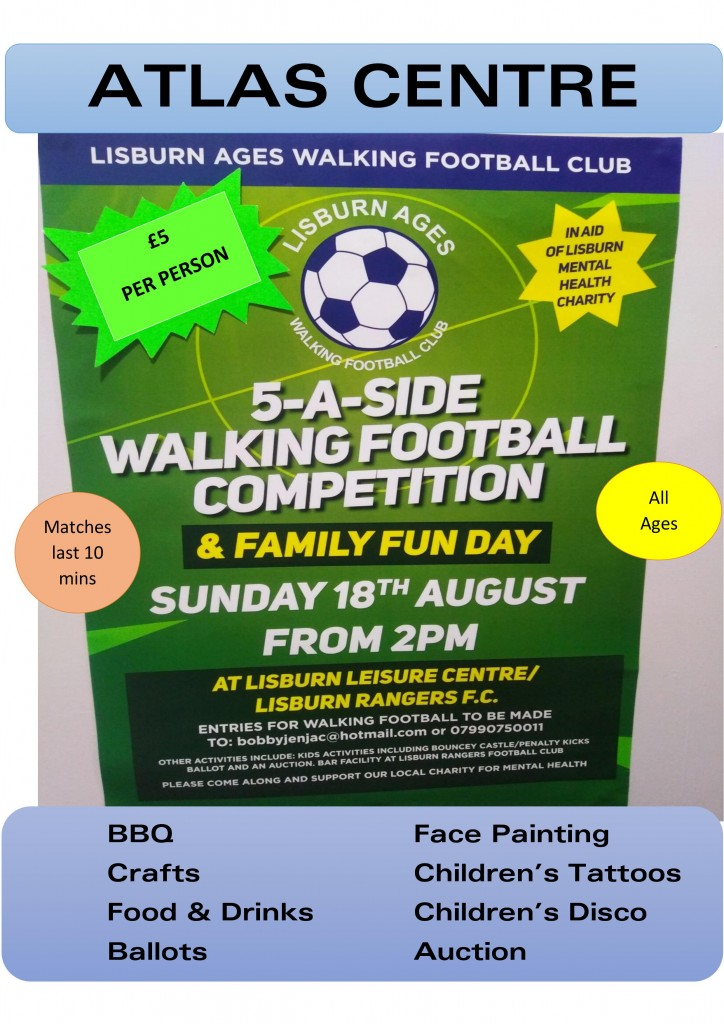 charity football event.
